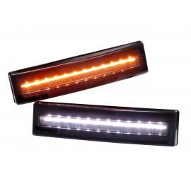 LED Begrenzungsleuchte SCANIA weiss oder orange für Sonnenblende, NEW Style