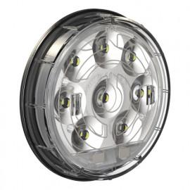 LED Schlussleuchte rund 100mm beheizt