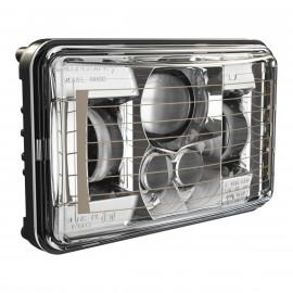 LED Abblendlichtscheinwerfer 4x6 Zoll J.W. Speaker 8800 mit Scheibenheizung, 12-24V
