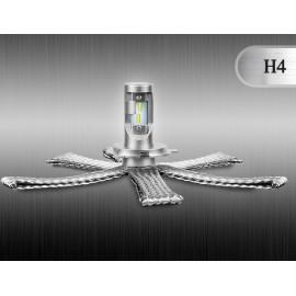 LED Ersatzleuchtmittel H4, 12-24V, ultrakompakt, DAKAR-Lights 4 Jahre Garantie