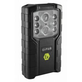 Akku LED Taschenlampe EX geschützt mit umschaltbarer Notleuchten Funktion