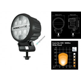 LED Arbeitsscheinwerfer CANIS GO 420, Nordiclights