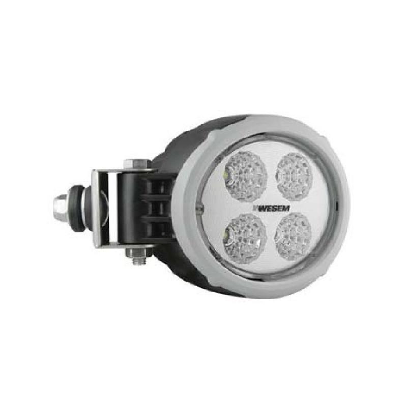 LED Arbeitsscheinwerfer rund WESEM CRV2 mit seitlicher Befestigung, 18W