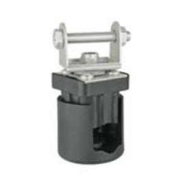 Rohrhalter für LED Arbeitsscheinwerfer, Rohrdurchmesser 15-28mm