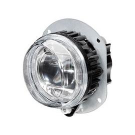 LED Nebelscheinwerfer mit Abbiegelicht rechts, 90mm, Hella