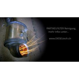 Partikelfilter, Russfilter, DPF reinigen