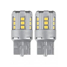 LED Birne OSRAM W3x16d, W21W, weiss, orange, rot