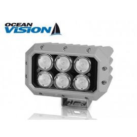 LED Arbeitsscheinwerfer 100W grau, 12-60V, 10800 Lumen, neutralweiss