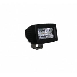 LED Mini Arbeitsscheinwerfer 12W DAKAR-Lights. Weit- oder Kombistrahler,, 12-24V, 4 Jahre Garantie
