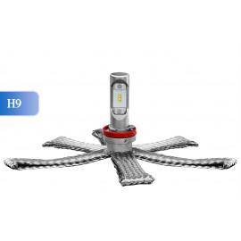 LED Ersatzleuchtmittel H9, 12-24V, ultrakompakt, DAKAR-Lights 4 Jahre Garantie