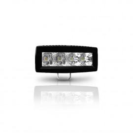 LED Arbeitsscheinwerfer 12W DAKAR-Lights, 12-24V, 4 Jahre Garantie