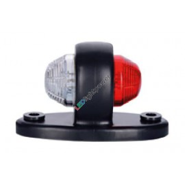 Mini LED Positionsleuchte rot/weiss aufbau