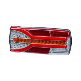 LED Schlussleuchte mit dynamischem Blinker, links, 304x132x48