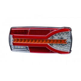 LED Schlussleuchte mit dynamischem Blinker, rechts, 304x132x48