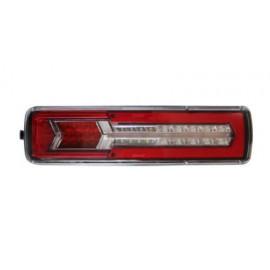 LED Schlussleuchte mit dynamischem Blinker, rechts, 24V, passend für Volvo und Renault LKW