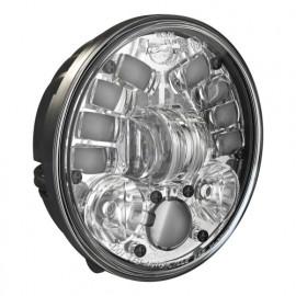 """LED Hauptscheinwerfer 5.75"""" Speaker Model 8691, Aufbau für Motorrad, nicht adaptiv"""