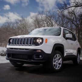 LED Hauptscheinwerfer Set J.W. Speaker 8700 Evolution 2R zu Jeep Renegade