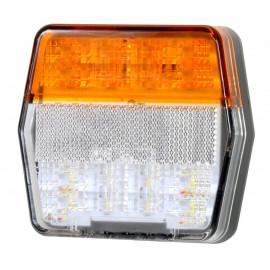 LED Positions- und Blinkleuchte 100x95x32, 12V mit Blinkerüberwachung