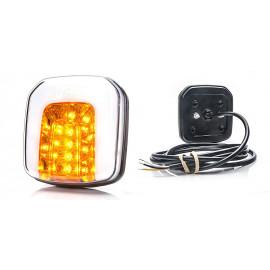 LED Blinker und Positionsleuchte, WAS 12-24V, 102x108