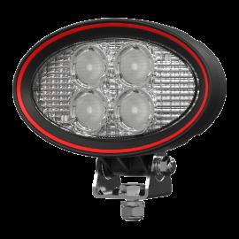 LED Arbeitsscheinwerfer oval 20W Weldex