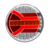 LED Rückleuchte rund mit dynamischem Blinker, HORPOL NAVIA, 12-24V