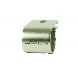 LAZER Inox Rohrhalterung für Fernscheinwerfer, Durchmesser 42mm, 1.65 Zoll
