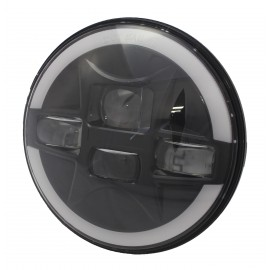 LED Hauptscheinwerfer 7 Zoll, Signal Stat, Truck-Lite, mit Tagfahrlicht
