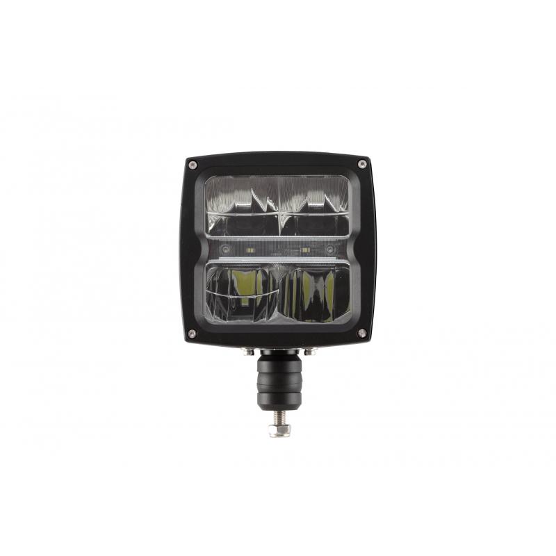 LED Aufbau Hauptscheinwerfer mit Scheibenheizung 12/24V