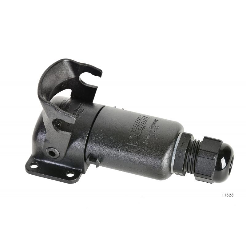 Stecker 5-pol, Dachdurchführung, wasserdicht, 16A, 12-24V