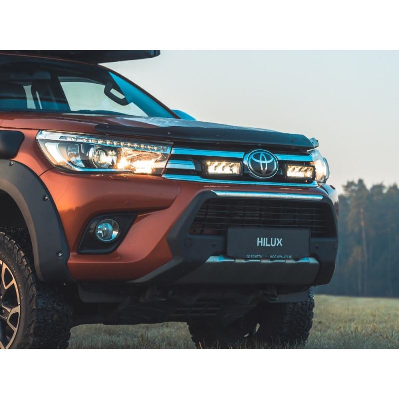 Kühlergrill Kit für Toyota Hilux MY 2017, für LAZER Triple-R Fernlichter