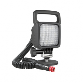 LED Arbeitsscheinwerfer WESEM 100x100x76, 2000 Lumen, 12-24V, mit Griff und Schalter