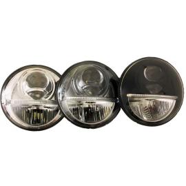 """LED Hauptscheinwerfer 5.75"""" Nolden, mit Tagfahrlicht"""