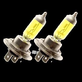 Halogen Glühlampen H7, 70W, 24V, Gold Vision, gelbes Licht, Set mit 2 Stück