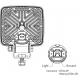 LED Arbeits- und Rückfahrscheinwerfer 25W Weldex, mit Kunststoffgehäuse, korrosionsfrei