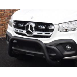 Kühlergrill Kit für Mercedes X-Class MY 2017, für LAZER Triple-R Fernlichter