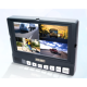 Rückfahrkamera Komplettset, 8 Zoll Monitor mit Kamera kabelgebunden 12-32V
