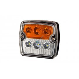 LED Blinker und Positionsleuchte vorne, 105x98, 12-24V