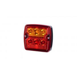 LED Schlussleuchte, 105x98, 12-24V