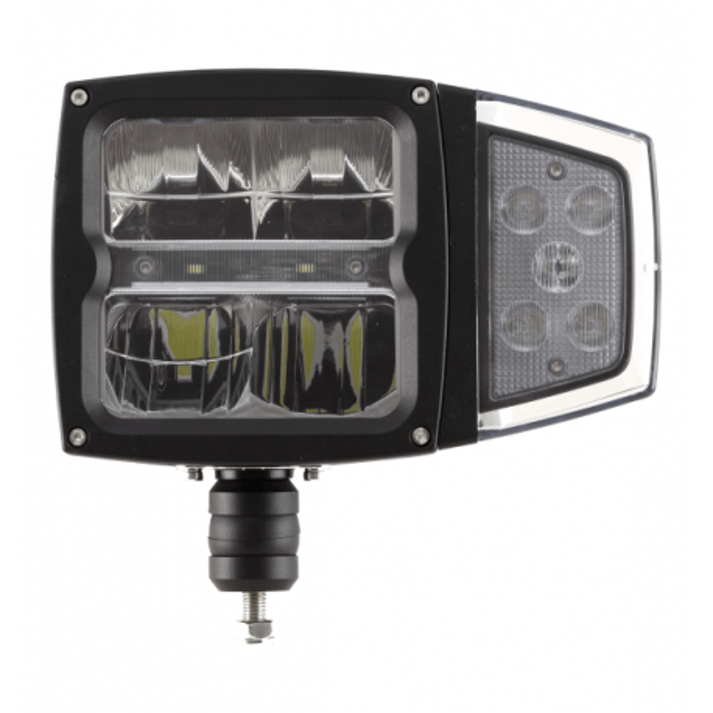 LED Aufbau Hauptscheinwerfer mit Scheibenheizung 12/24V links