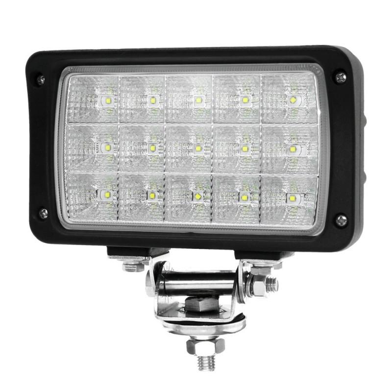 LED Arbeitsscheinwerfer 45W rechteckig