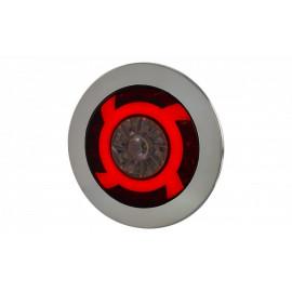 Einbau LED Rückleuchte Turbinenstyle mit Rückfahrlicht 12-24V