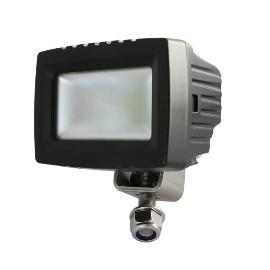 LED Mini Arbeitsscheinwerfer 12W DAKAR-Lights Ultra-Breitstrahler, ANTIglare, 12-24V, 4 Jahre Garantie