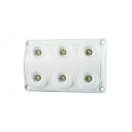 LED Innenleuchte 6 LED, 120x75, 12-24V