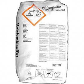 pH Minus für Pool Wasseraufbereitung, Natriumbisulfat, Natriumhydrogencarbonat, Sack à 25kg