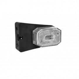 LED Positionsleuchte weiss mit Reflektor, Aspöck Flexipoint LED 9-33V