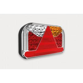 LED Schlussleuchte 240x140x55, 12-24V, links oder rechts