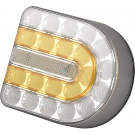 Kabellose Front Positions- und Blinkleuchte, Wireless LED Front Positions- und Blinkleuchte, Links