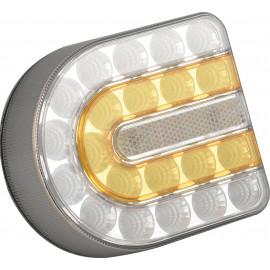 Kabellose Front Positions- und Blinkleuchte, Wireless LED Front Positions- und Blinkleuchte, Rechts