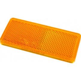 Rückstrahler orange selbstklebend 94x44mm