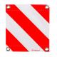 Fahne für Überbreite rot/weiss doppelseitig, 40x40cm, mit Ösen